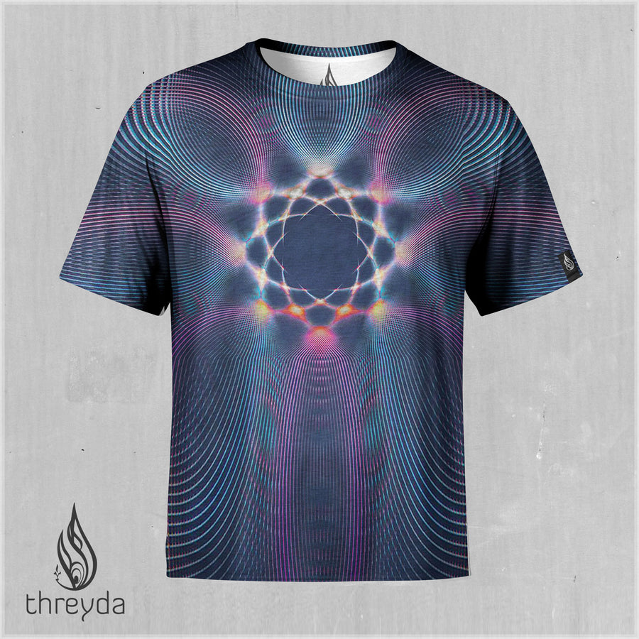 Light Intervals Sublimation Tee by Andy Gilmore