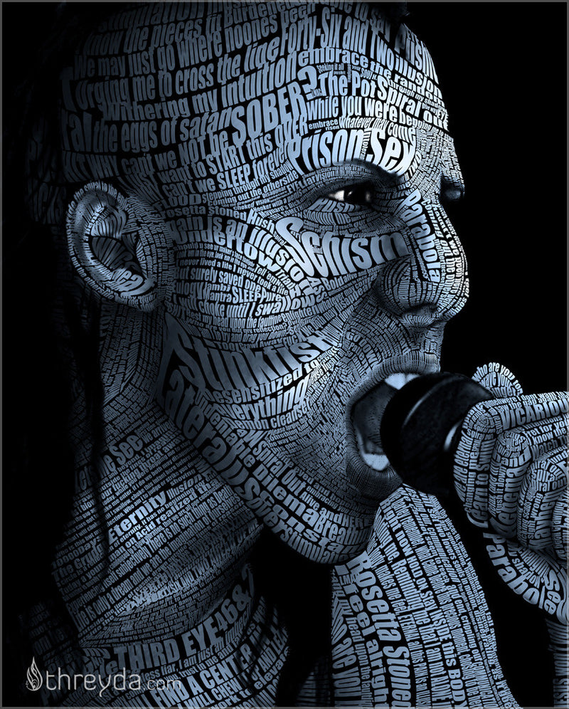 Maynard James Keenan by Tyler Space , Art Print - Tyler Space, Threyda