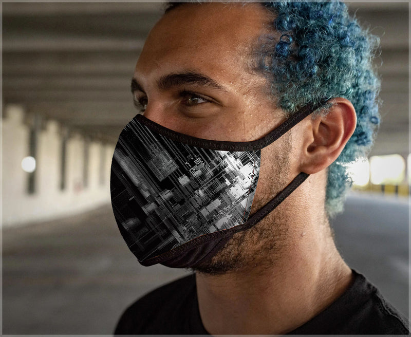 System Crash Mask by Justin Totemical