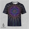 Sri Yantra Sublimation Tee by Kimi Takemura