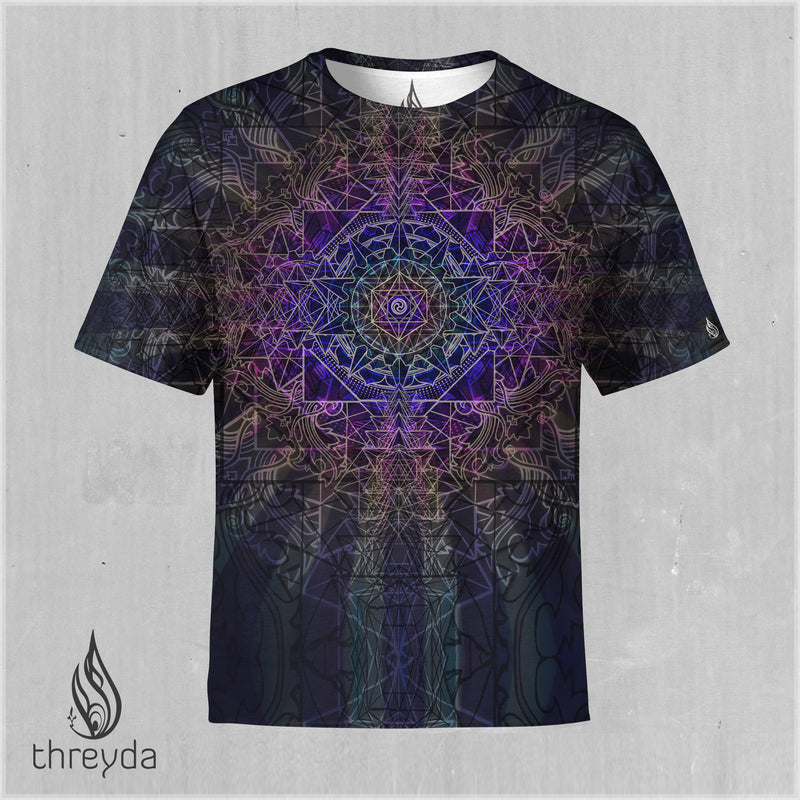 Sri Yantra Sublimation Tee by Kimi Takemura - Ships March 2020