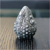 3-D Printed Egg Artifact - Nickel Brushed by Ben Ridgway