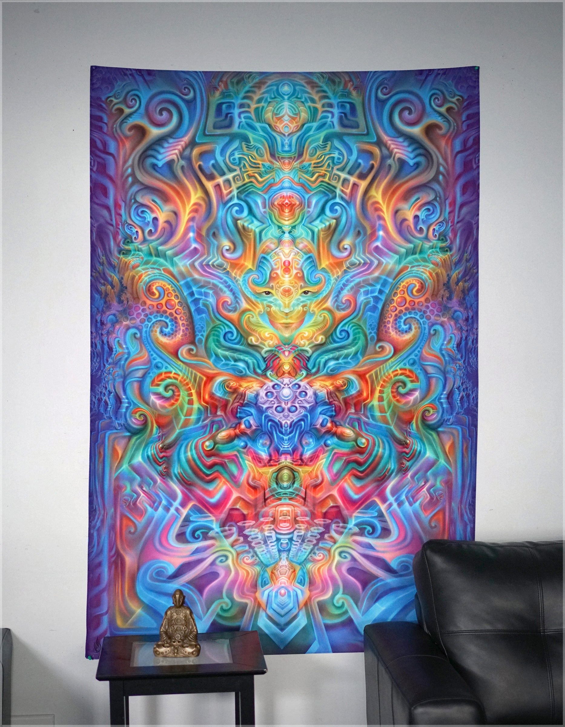 Holographic Alter Tapestry by Fabian Jiminez