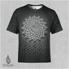 DIATOM-MYSTIC Sublimation Tee by Ben Ridgway