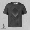 Block Sequence Sublimation Tee by Threyda