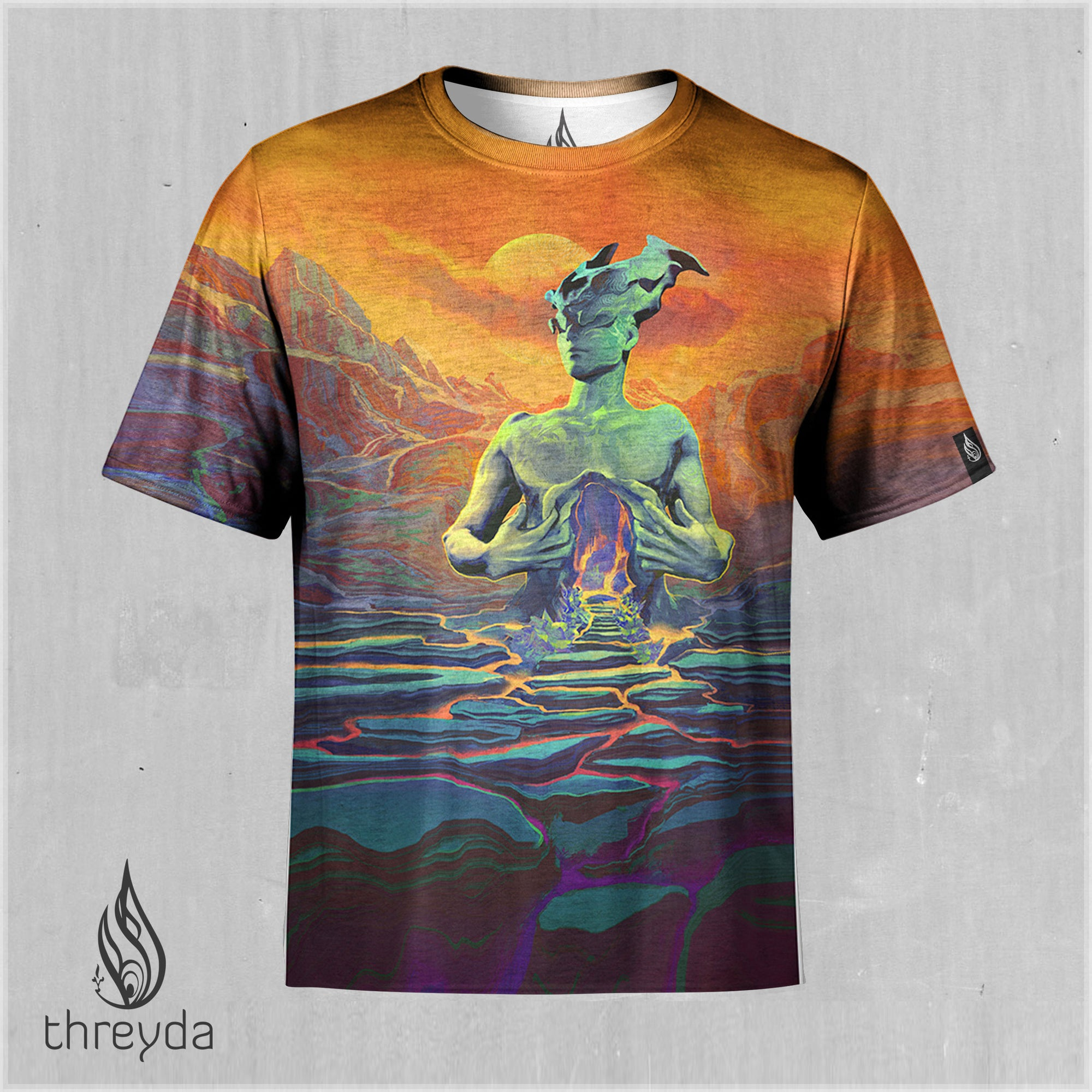 Pyroeis Tephra Sublimation Tee by Justin Totemical