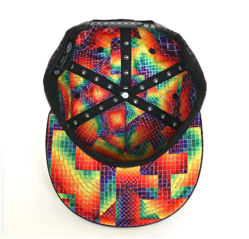 Realms of the Unpronounceable Snapback Hat by Allyson Grey