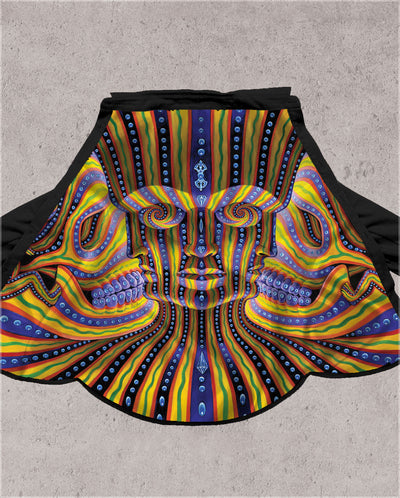 Bardo Being Button Down by Alex Grey