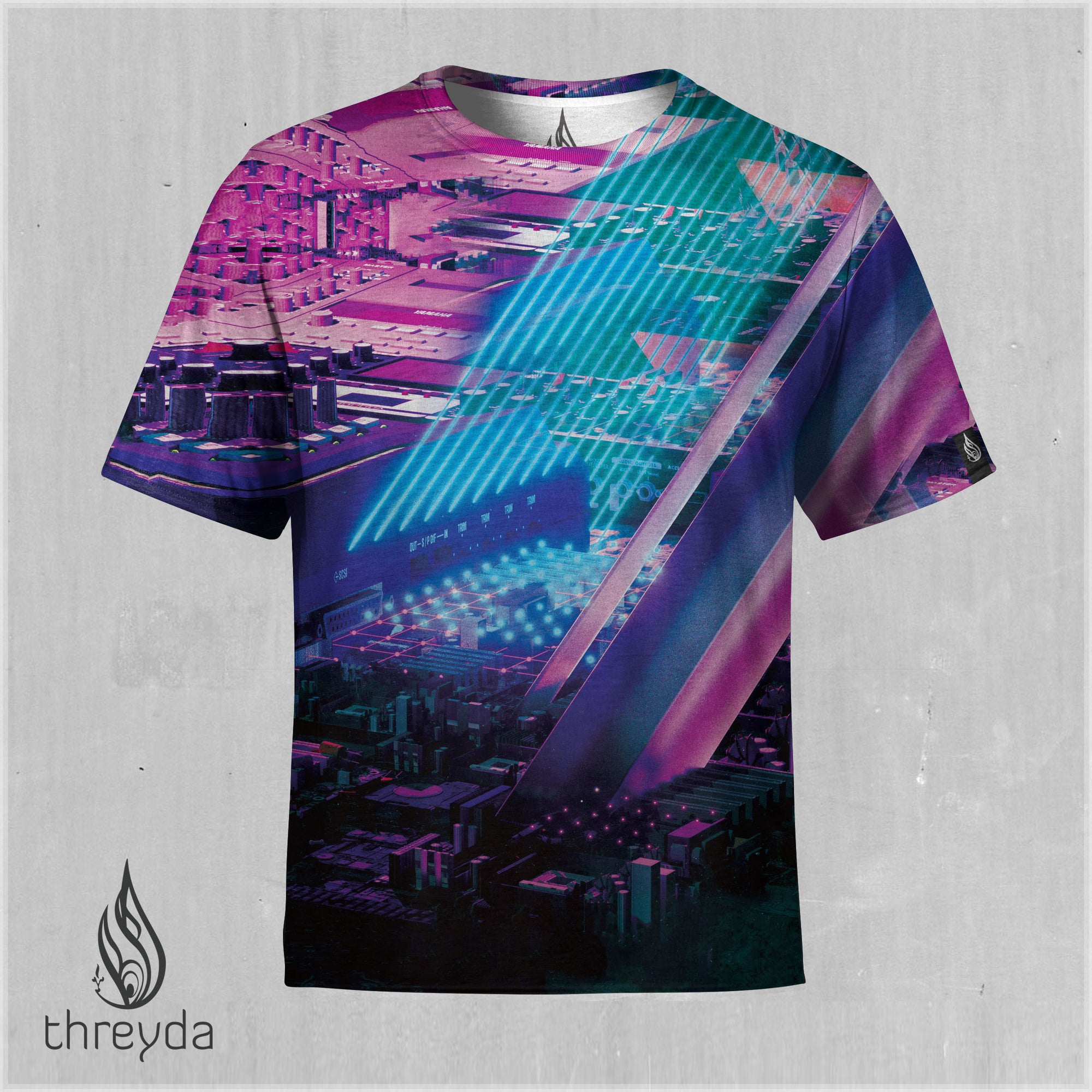 Neon Sublimation Tee by Beeple