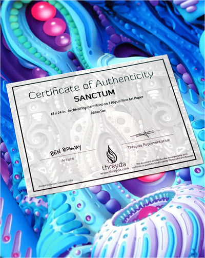 Sanctum Signed Print by Ben Ridgway - 24 Hour Release