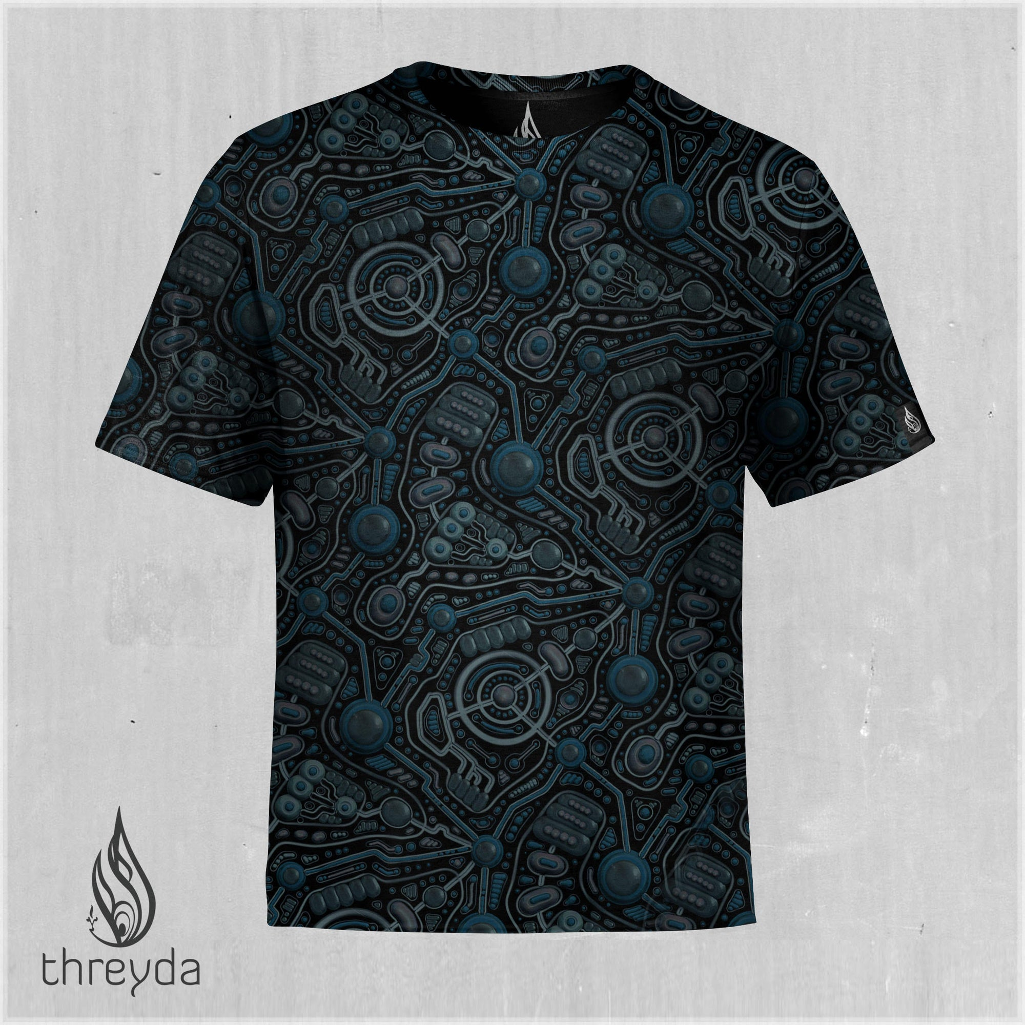 Circuit Cells Sublimation Tee by Ben Ridgway