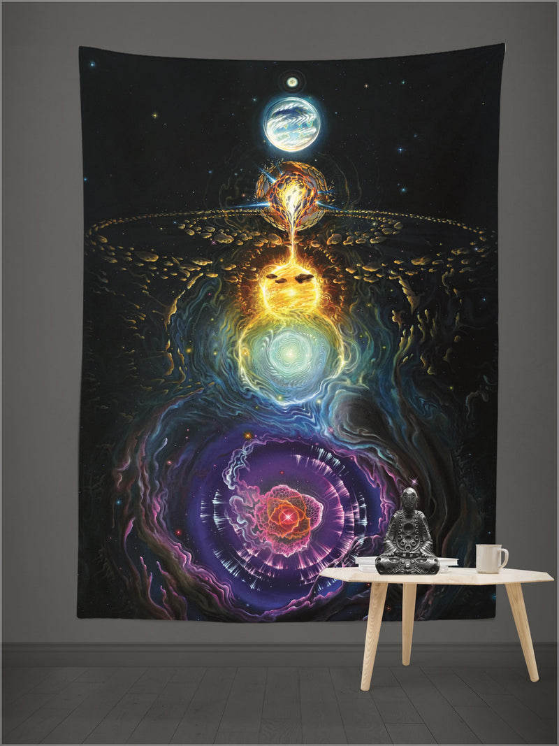 Beyond Chaos Tapestry by Blake Foster