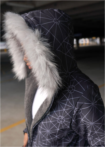 Triangulation Sherpa Jacket by Kimi Takemura