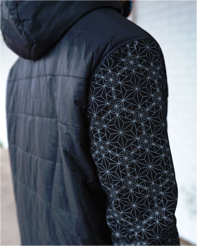 Quilted Bomber Jacket by Threyda - Ships Dec 2020