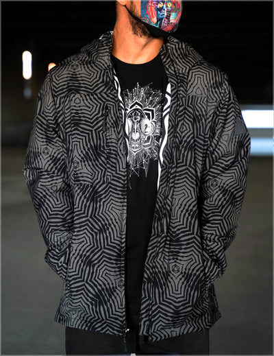 Flux Capacitor Obsidian Jacket by Cassady Bell