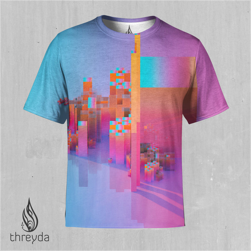Chromatic Shift Sublimation Tee by Beeple