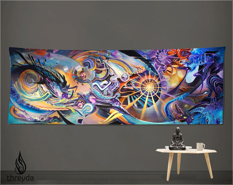 Antikythera Tapestry by Peter Westermann, Brian Hampton, Seth McMahon, Randal Roberts, and Morgan Mandala