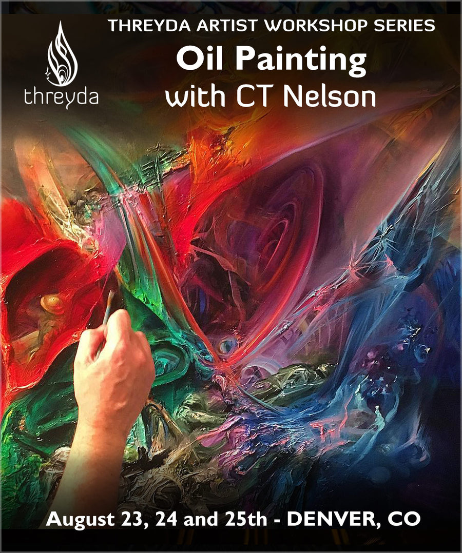 CT Nelson (3 Day) Oil Painting Workshop - August 23, 24 and 25