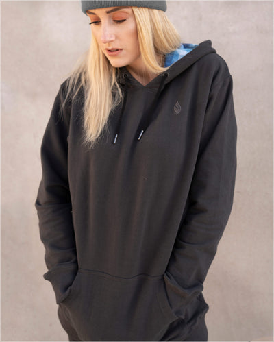 Vapor Cotton Pullover Hoodie by Threyda