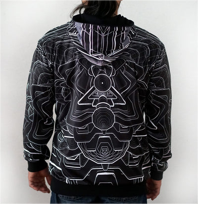 Detox Unit Reversible Hoodie by Jake Amason