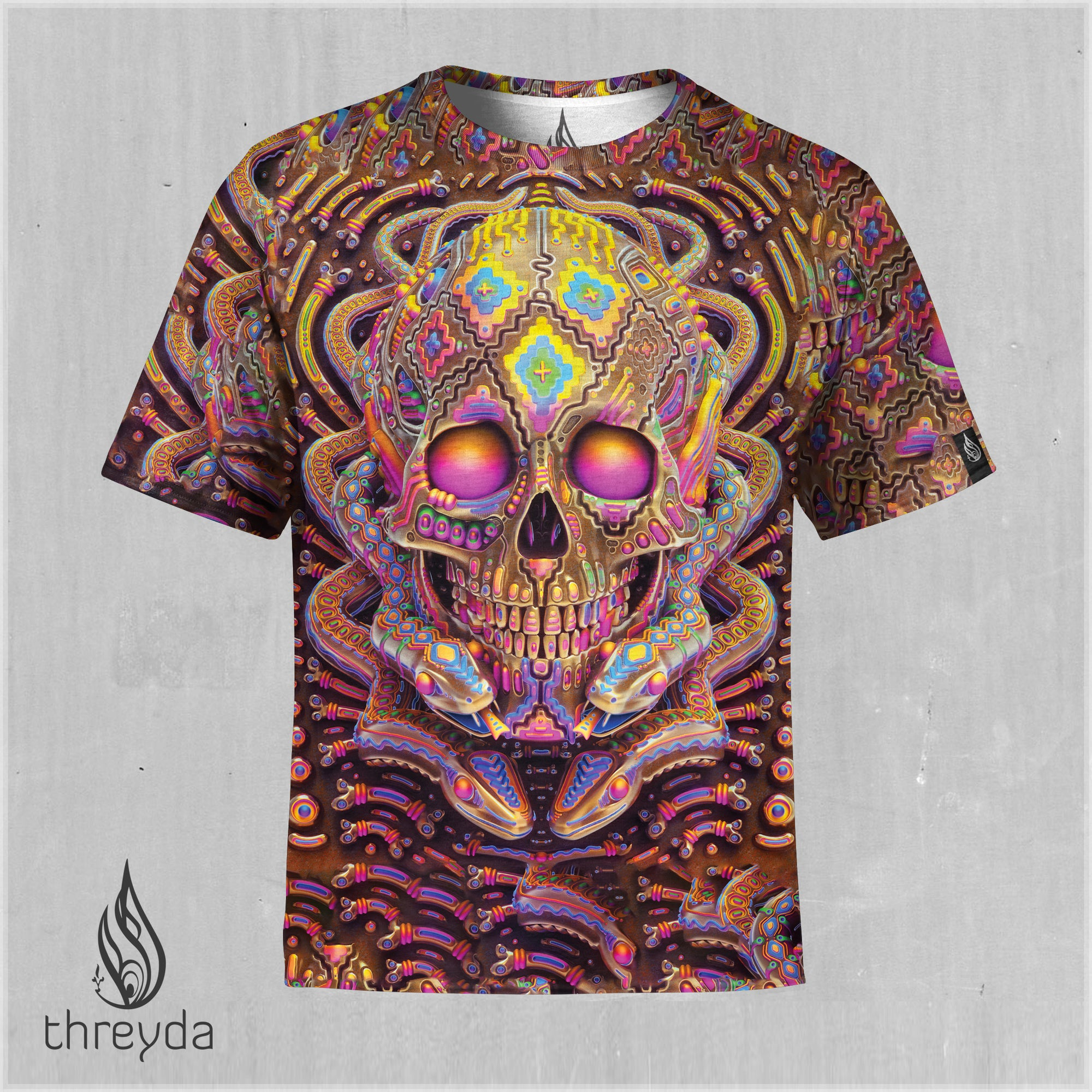 Ego Dissolution Sublimation Tee by Ben Ridgway
