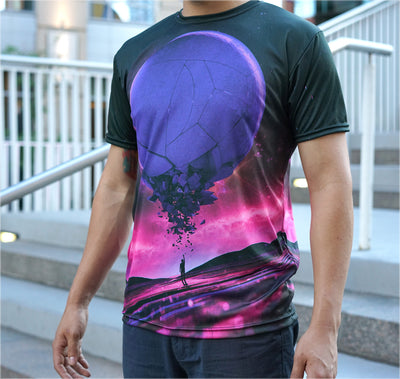 Reaching Out Sublimation Tee by Beeple