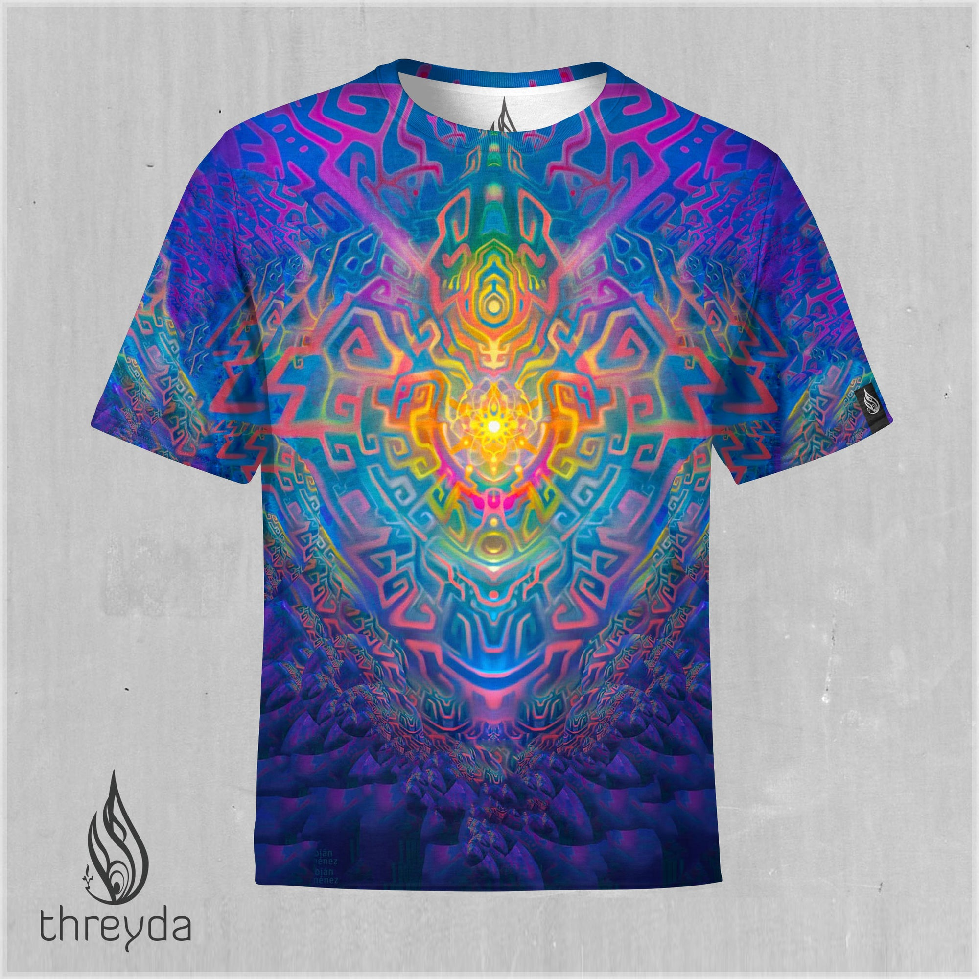 Solar Totem Sublimation Tee by Fabian Jimenez