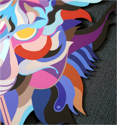 Concentration Aluminum Print by Fernando Chamarelli