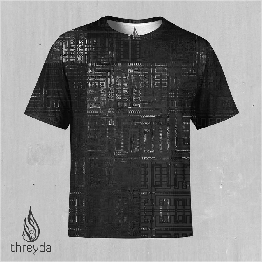 Fragmentation Sublimation Tee by Frame of Mind