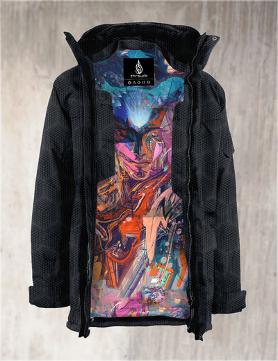 Gabriel Onyx Jacket by Android Jones