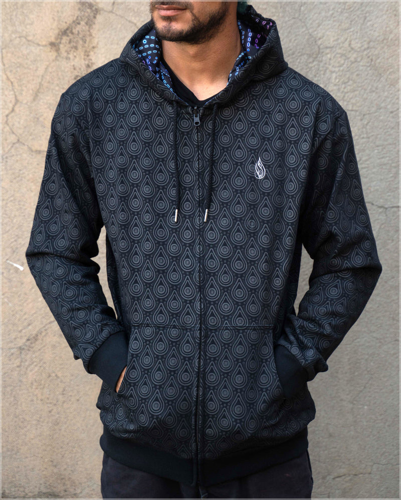 Gift Midweight Reversible Hoodie by Ben Ridgway