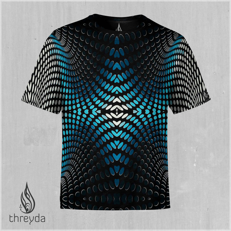 Halftone Sublimation Tee by Threyda
