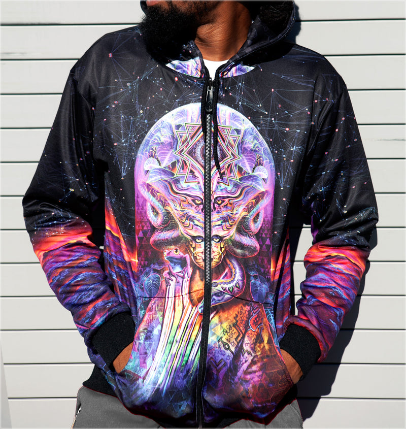 Icaro Reversible Heavyweight Hoodie by Justin Totemical