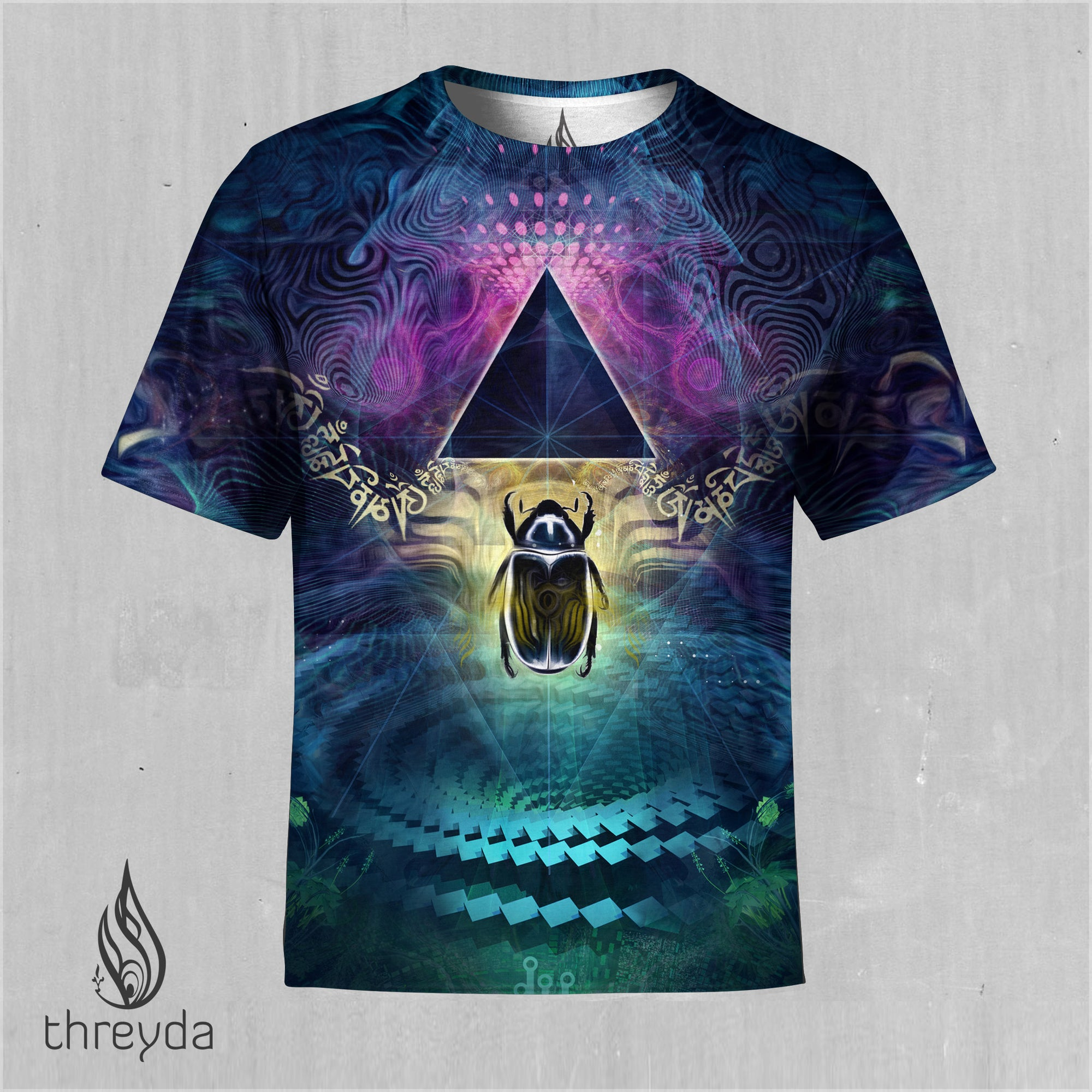 Khepera Sublimation Tee by Justin Totemical