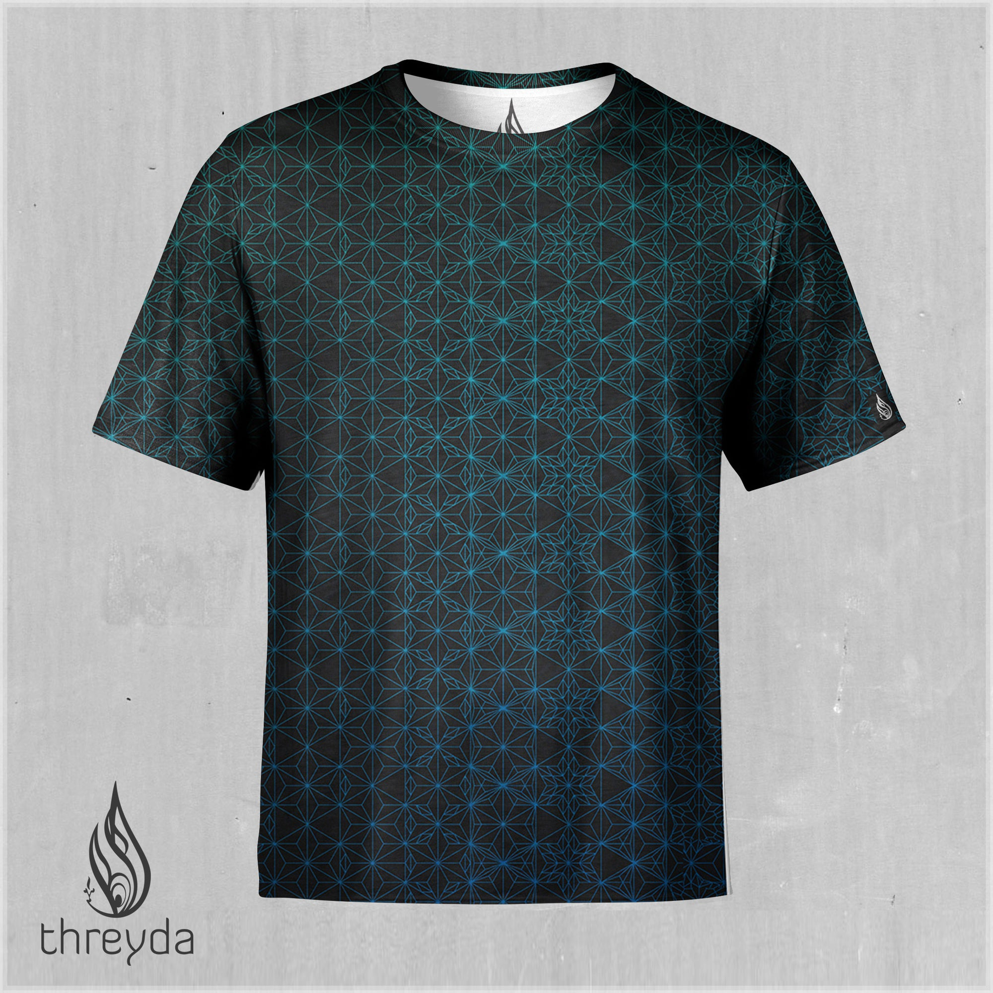 Emerald Starseed Sublimation Tee by Kimi Tamakura - Ships March 2020