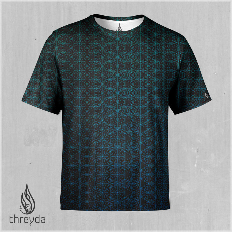 Emerald Starseed Sublimation Tee by Kimi Tamakura