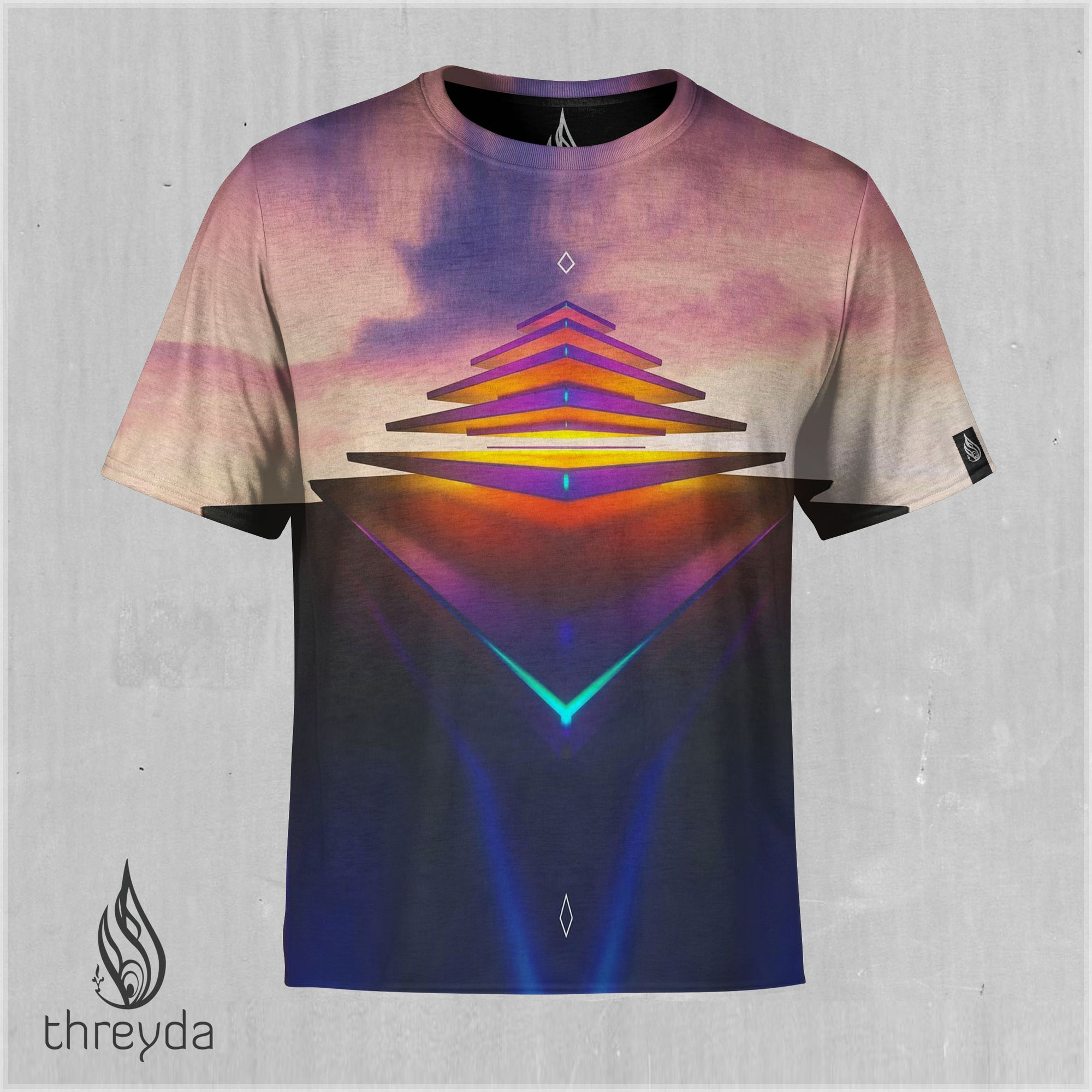 Olympus Sublimation Tee by Matt Mills