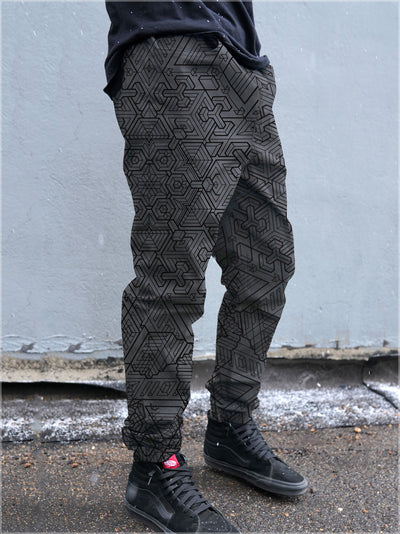 Mech 1 Cotton Joggers by Mike Cole - Ships April 2020