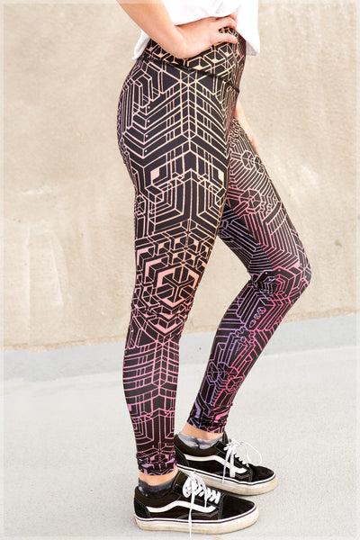 Mech3 Leggings by Mike Cole