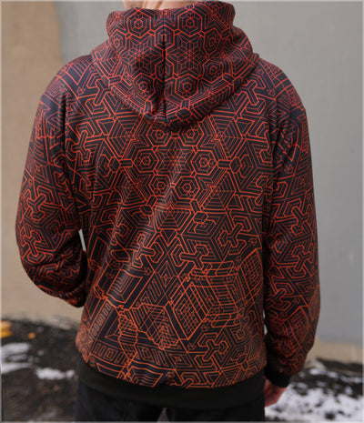 Mech 4 Sherpa Hoodie by Mike Cole - Backstock Available