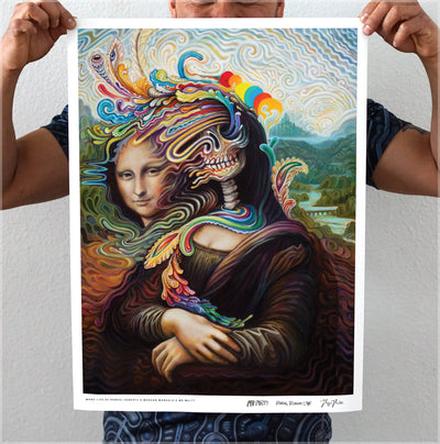 Melty Lisa Signed Print by Mr. Melty, Randal Roberts, and Morgan Mandala - 24 Hour Release