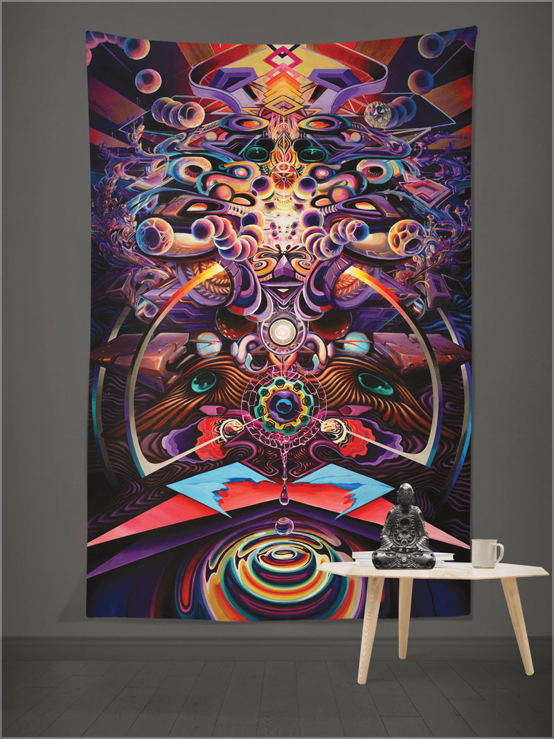 Monolith Tapestry by Apex Collective