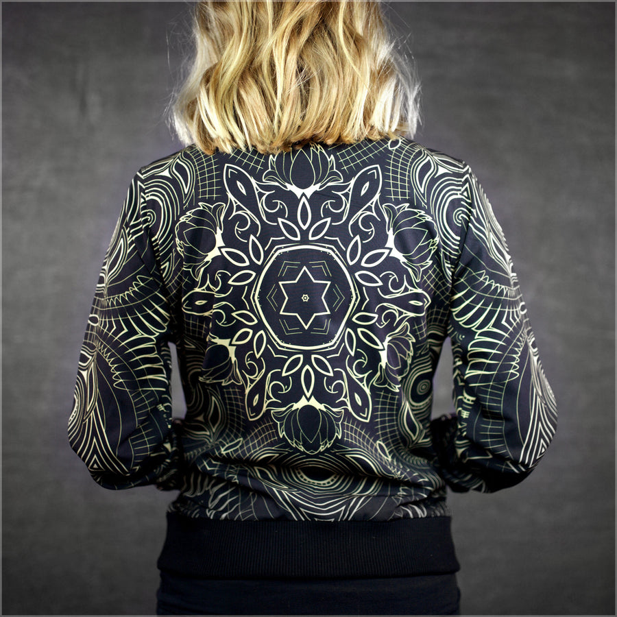 Sacred Medallion Bomber Jacket by Mugwort