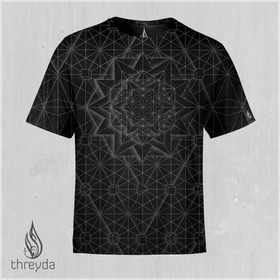 Platonic Solids Tee by Kimi Takemura
