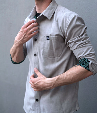 Oracle Button Down Shirt by Threyda - Ships March 2020