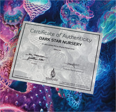 Dark Star Nursery Signed Print by Blake Foster x Jonathan Solter - 24 Hour Release