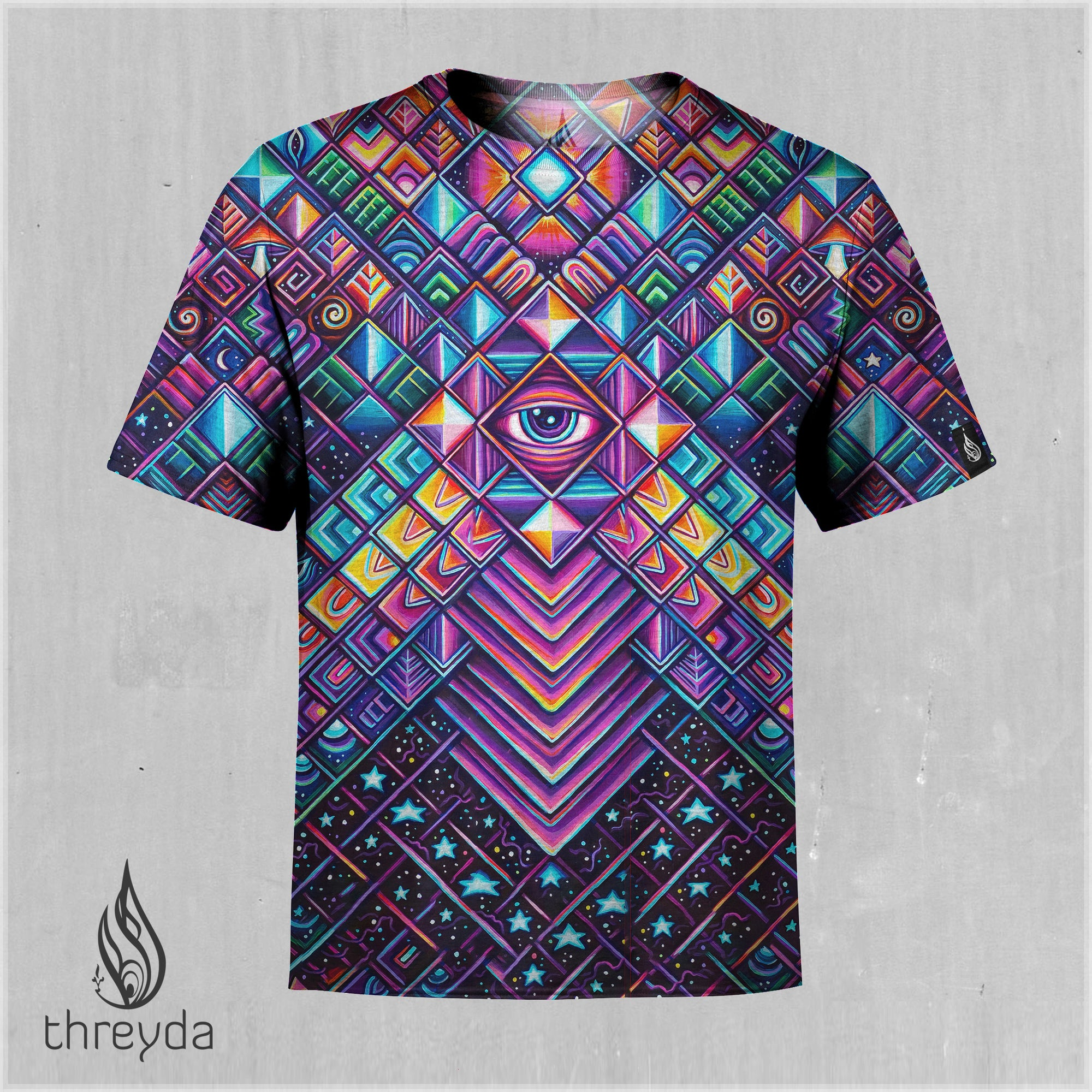 Rising Sun Sublimation Tee by John Speaker