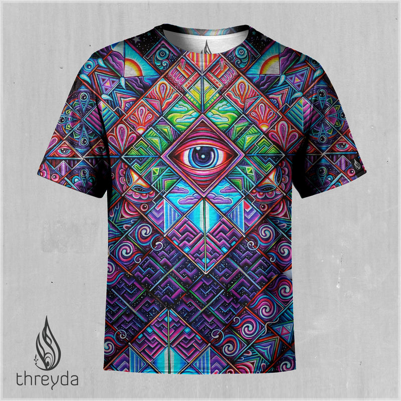 Rise N Shine Sublimation Tee by John Speaker