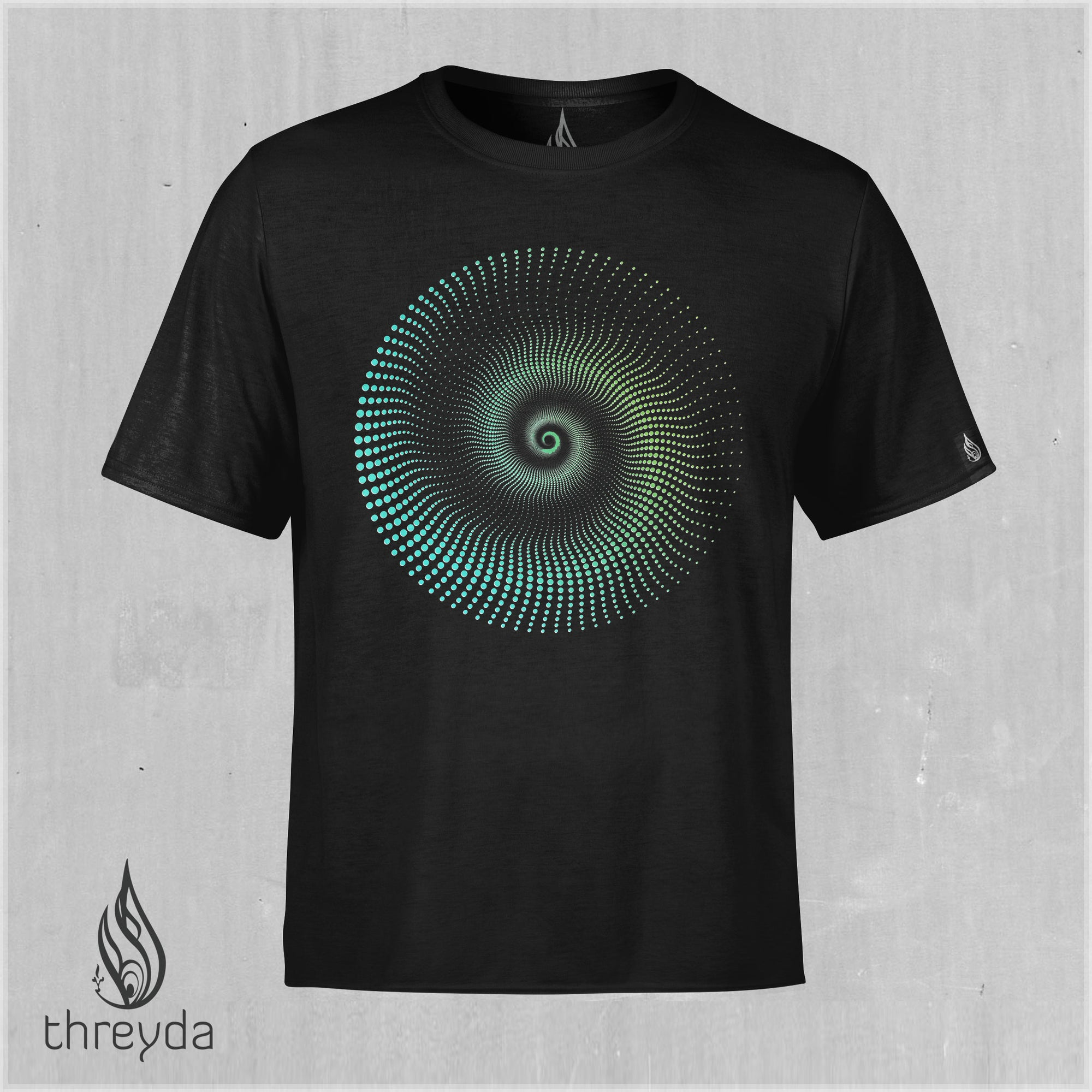 Haedron Color Shifting Cotton Tee by Threyda
