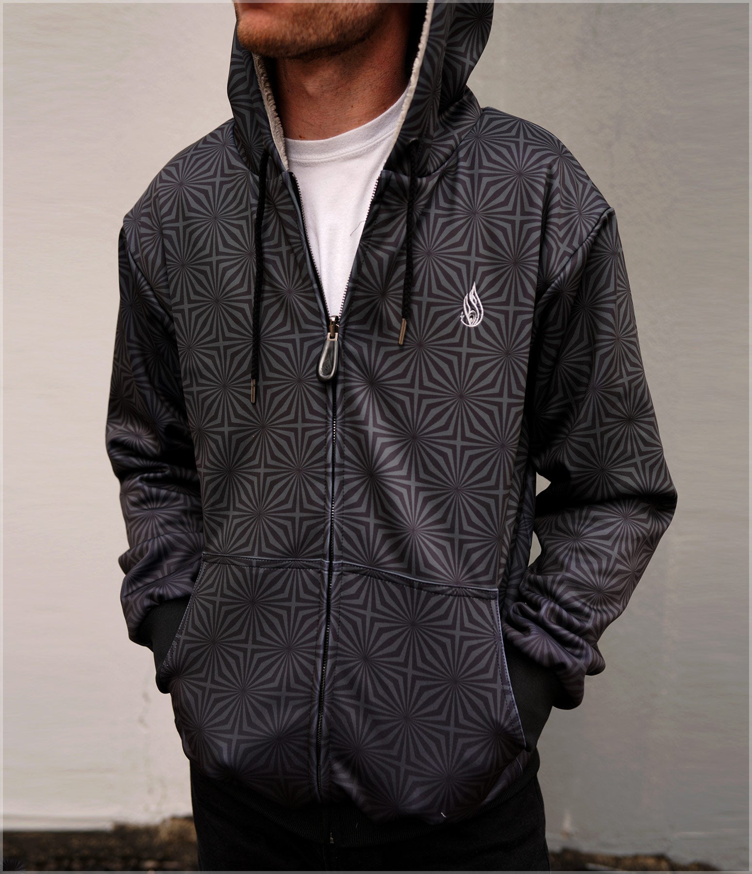 Blackstar Sherpa Hoodie by Threyda - Backstock Available